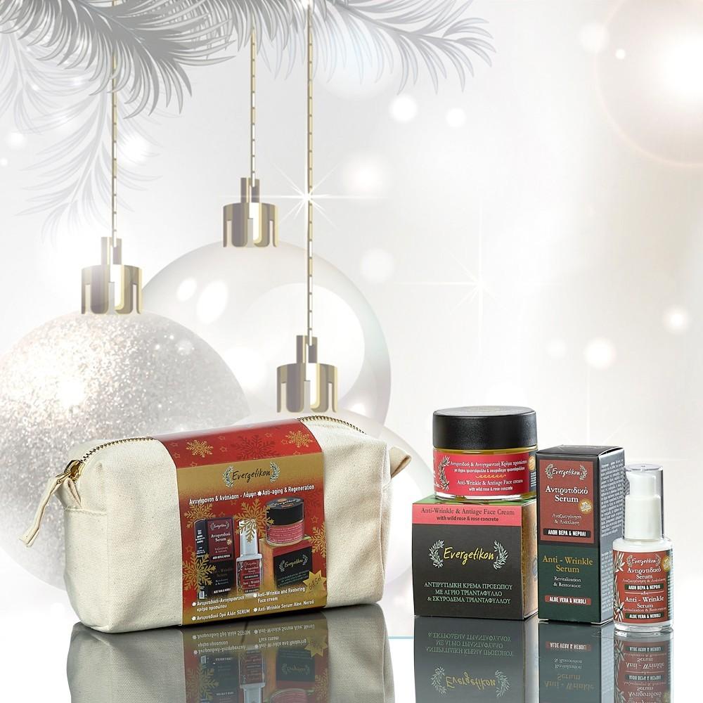 Σετ  Δώρου   Χριστουγέννων    Αντιγήρανση , Ανάπλαση  & Λάμψη