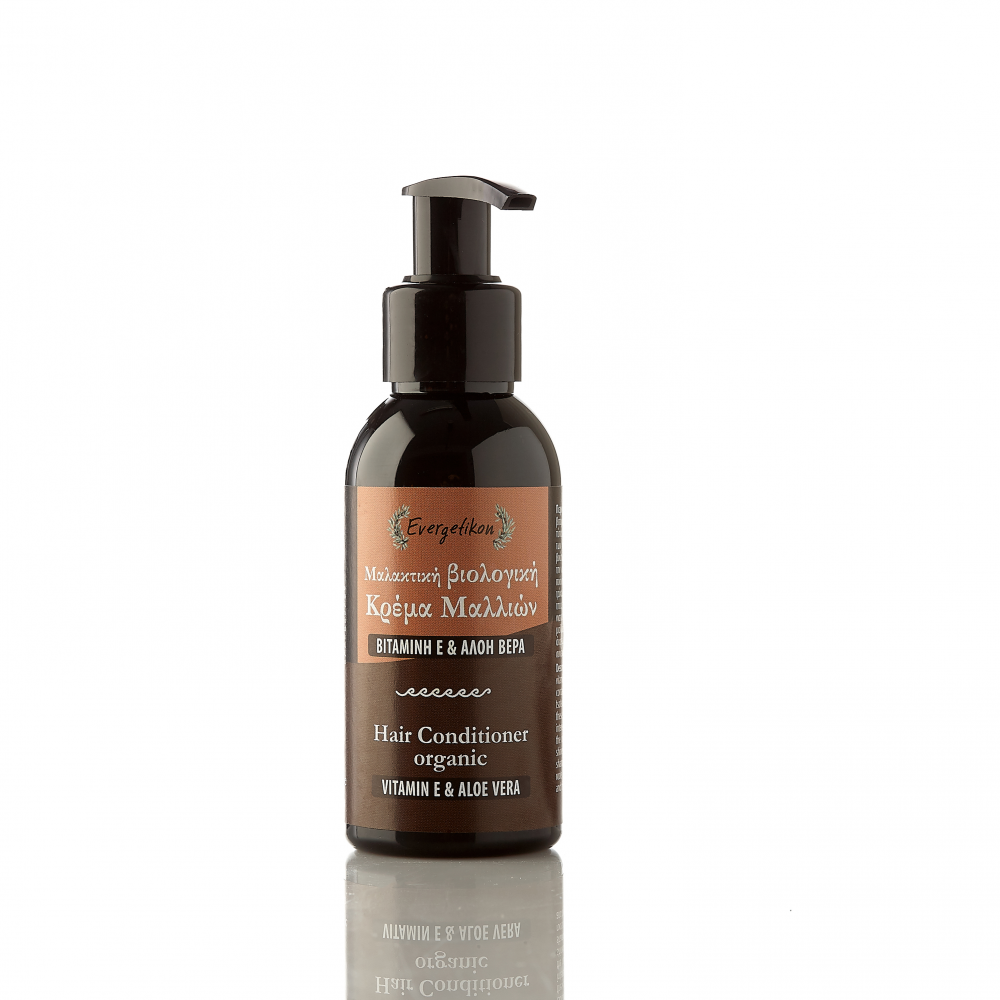 Μαλακτική, βιολογική κρέμα μαλλιών με Βιταμίνη E & Aλόη