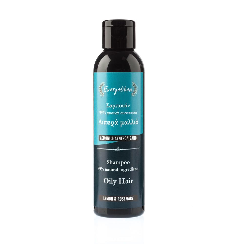 Shampoo for Oily Hair  with Lemon & Rosemary