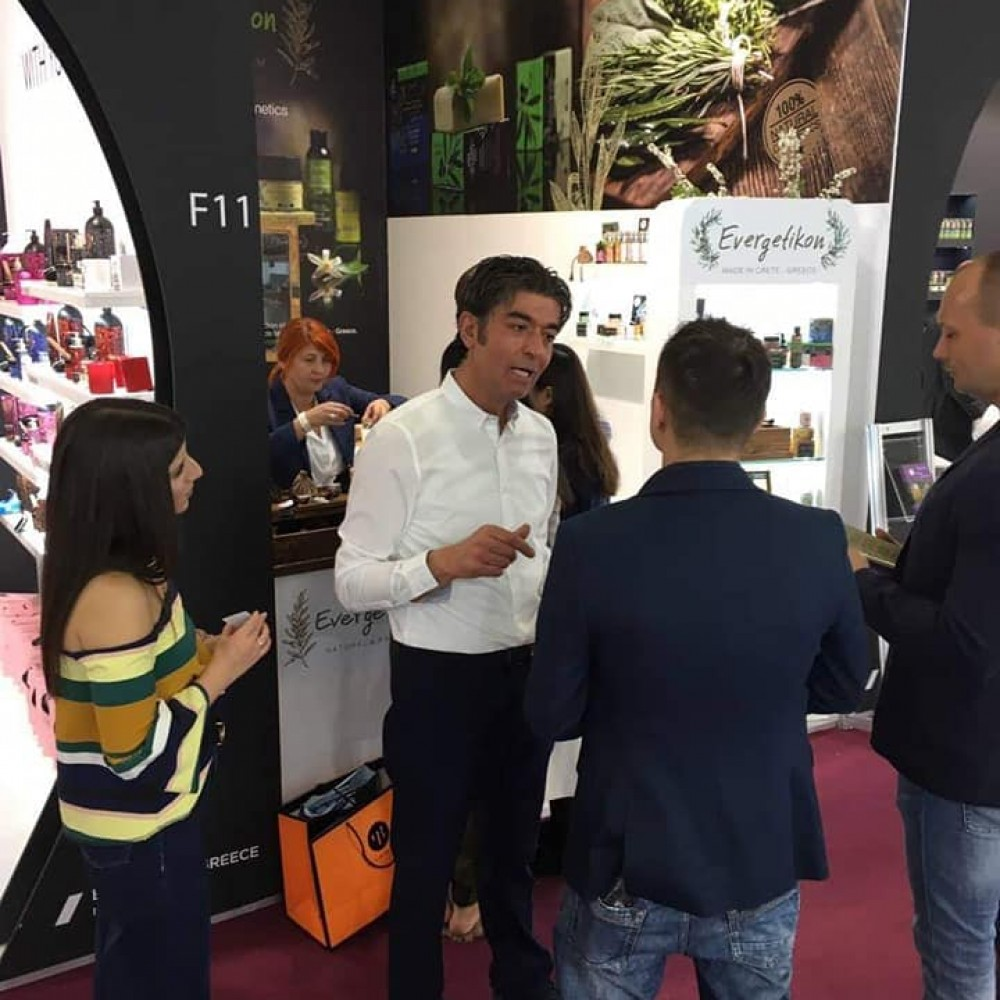 The Evergetikon in Bologna of Italy, for the Cosmoprof International Cosmetics Fair.