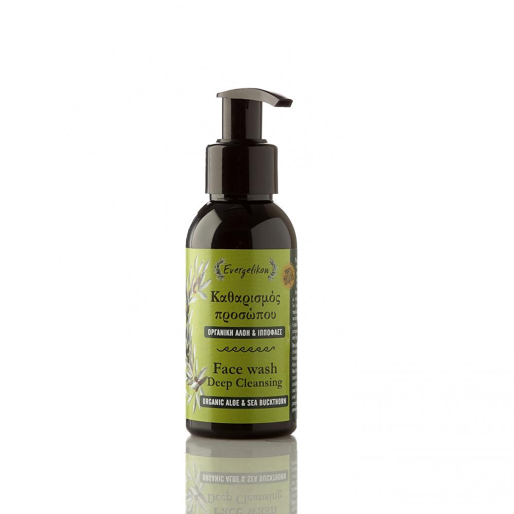 Deep cleansing Face wash Sea Buckthorn & Οrganic Aloe